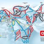 Карта курорта Буковель